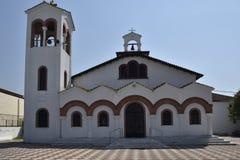 Greek orthodox church against blue sky Stock Photography
