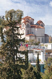 Greek orthodox church Agia Marina Royalty Free Stock Photography