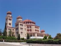 Greek orthodox church - Aigina Stock Photo