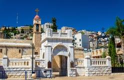 Greek Orthodox Church of the Annunciation in Nazareth. Israel Stock Photos