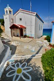 Greek orthodox church. Avlakia. Samos. Greece Stock Photo