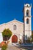 Greek orthodox church Stock Image