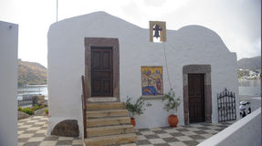Orthodox church on Patmos island Stock Photography