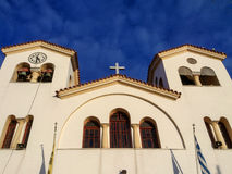 Greek Orthodox  Church in Crete Royalty Free Stock Photography