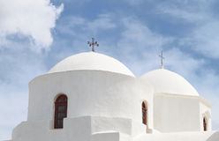 Greek orthodox church detail image Royalty Free Stock Image