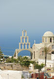 Greek Orthodox church of Fira Stock Photo