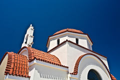 Greek Orthodox Church in Greece Royalty Free Stock Photography