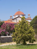 Greek Orthodox Church at  Kalloni Lesvos Greece Royalty Free Stock Image