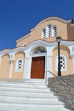 Greek Orthodox church in Kefalos Royalty Free Stock Image