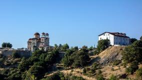 Greek Orthodox Church and Monastery Royalty Free Stock Image