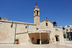 Greek Orthodox Church in Nazareth Stock Photo