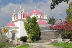 Free Greek Orthodox Church Of The Twelve Apostles In Capernaum, Israel Royalty Free Stock Image - 65131236