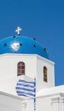 Greek orthodox church in Oia on the Santorini Royalty Free Stock Photos