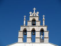 Greek Orthodox Church, Santorini Royalty Free Stock Photo