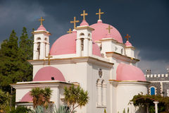 Greek Orthodox Church of the Seven Apostles Stock Photography