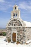 Greek orthodox church. Traditional greek orthodox church in Schinoussa island, Greece Stock Photo