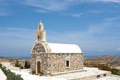 Greek orthodox church. Traditional greek orthodox church in Schinoussa island, Greece Stock Photography