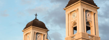 The Greek-Orthodox church of Trieste Royalty Free Stock Photos