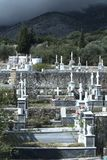 Greek Orthodox graveyard royalty free stock photos