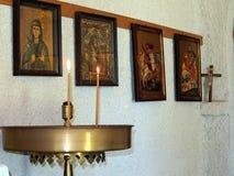 Greek Orthodox Icons Stock Photos