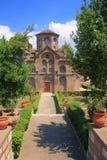 Greek orthodox monastery Stock Images