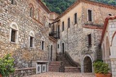Greek orthodox monastery Royalty Free Stock Photo