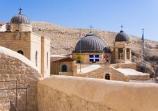 Greek Monastery in Palestine Royalty Free Stock Image