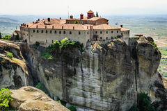 Greek orthodox monastery, Meteora, Greece Stock Photo