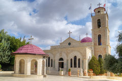 Greek Orthodox monastery, Shepherds Fields, Israel Royalty Free Stock Photos