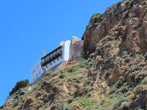 Greek Orthodox Monastery, Skyros Stock Image