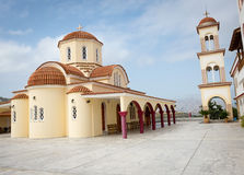 Greek Orthodox Monastery Royalty Free Stock Images
