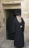 Greek Orthodox monk Stock Photography