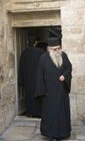 Greek Orthodox monk Stock Photography
