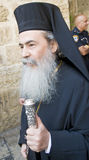 Greek Orthodox Patriarch of Jerusalem Royalty Free Stock Photography