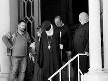 Greek Orthodox Priest Stock Image