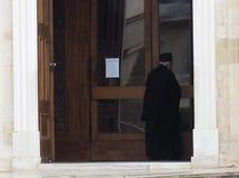 Greek Orthodox Priest Stock Photography