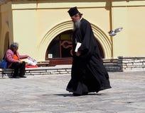Greek Orthodox Priest Stock Images