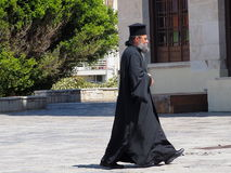 Greek Orthodox Priest Stock Images
