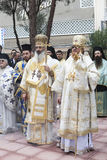 Greek orthodox Saint Nicholas celebration Royalty Free Stock Photography