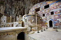 Greek Orthodox Sumela Monastery Stock Photography