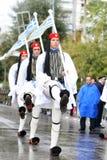 Greek parade Stock Photos
