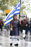 Greek parade Stock Photo