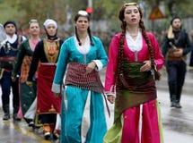 Greek parade Stock Image