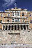 Greek Parliament, Athens Royalty Free Stock Photography
