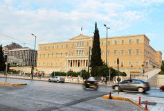 Greek Parliament, Athens Stock Image