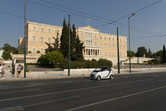 Greek Parliament Building Royalty Free Stock Image