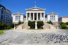 Greek Parliament building Royalty Free Stock Photo