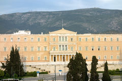 Greek Parliament Royalty Free Stock Photos