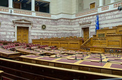 The Greek Parliament stock photos