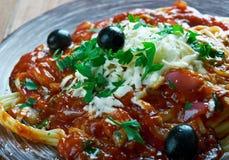 Greek pasta . Royalty Free Stock Image